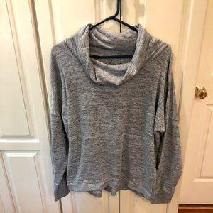 Gerry Cowl Neck Pullover Heather Grey Sweater XXL